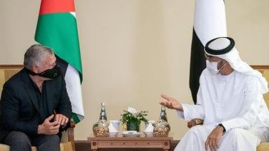 صورة ملك الأردن يشيد بالتحرك الإماراتي لدعم الموقف العربي من خطة الضم الإسرائيلية