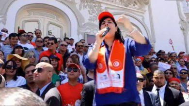 """صورة الدستوري الحر يقرر الاعتصام أمام """"اتحاد القرضاوي"""" حتى رحيله عن تونس"""