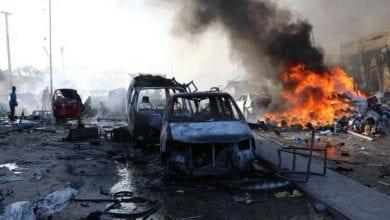 صورة قائد الجيش الصومالي ينجو من محاولة اغتيال نفذتها حركة الشباب الإرهابية