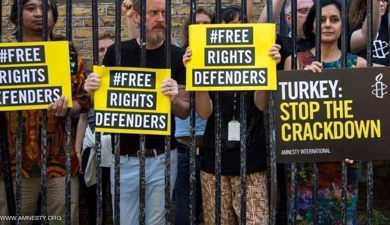 استبداد النظام التركي