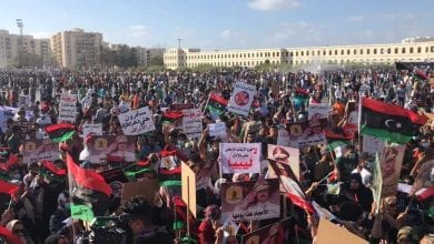 آلاف الليبيين يتظاهرون ضد الاحتلال التركي