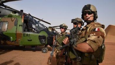 صورة قوات أوروبية خاصة بمكافحة الإرهاب إلى مالي