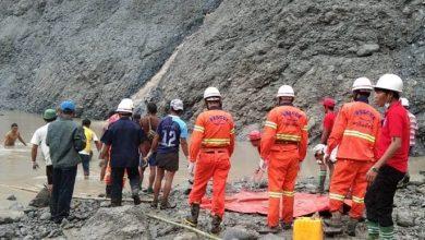 Photo de Birmanie: 113 morts dans un glissement de terrain dans les mines de jade