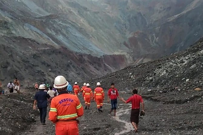 Photo of Death toll from Myanmar jade mine landslide rises to 113