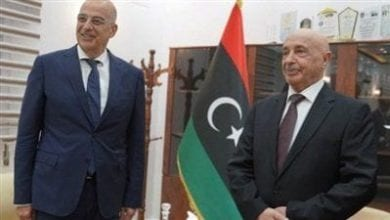 Photo of Dendias in eastern Libya for talks on ceasefire, foreign intervention