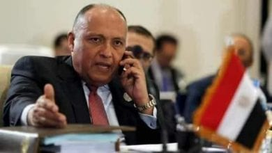 Photo of Solution in Libya is to end terrorism, external interference: Egypt's FM Shoukry tells French, German counterparts