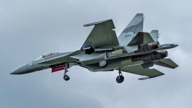 """Photo of First Photos Of Egypt's New Sukhoi Su-35SE """"Super Flankers"""""""