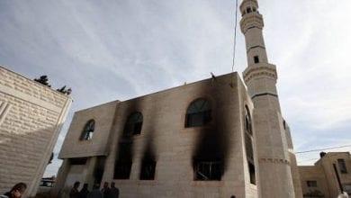 Photo of Palestine: Israeli settlers set fire to mosque in al-Bireh near Ramallah