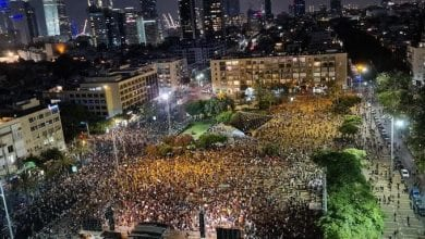 Photo of Thousands of Israelis demonstrated in downtown Tel Aviv against Netanyahu over COVID-19 economic relief