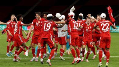 Photo de Le Bayern Munich sacré 20e Coupe d'Allemagne