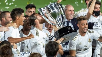 Photo de Le Real Madrid sacré champion de la Liga