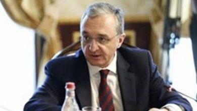 Le ministre arménien