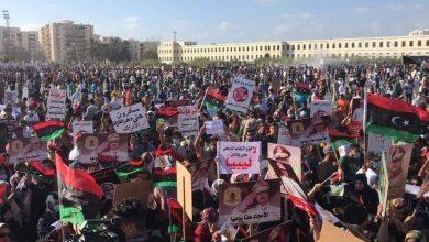 Photo de Les libyens manifestent contre l'ingérence turque