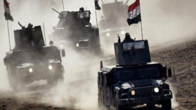 Photo de Les troupes irakiennes deployés le long de la frontière avec la Turquie