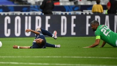 Photo of Mbappe doubtful for Champions League with ankle sprain