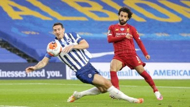 Photo of Mohamed Salah at the Centre of Liverpool's Win Over Brighton & Hove Albion