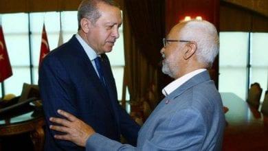 Photo de Rached Ghannouchi échappé de justesse au vote à retirer la confiance