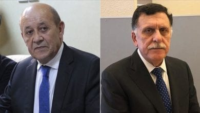 Photo of Top French diplomat, Libyan premier talk over phone