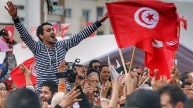 صورة اشتباكات بين الجيش التونسي والمحتجين في ولاية تطاوين
