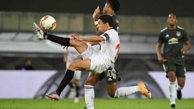 صورة إشبيلية يتأهل للمباراة النهائية في بطولة الدوري الأوروبي لكرة القدم