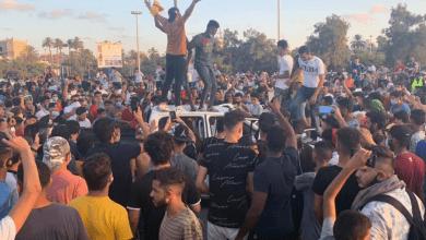 صورة ميليشيات السراج تختطف عددا من المتظاهرين في طرابلس وتطلق الرصاص على آخرين