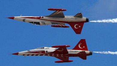 مقاتلات النظام التركي