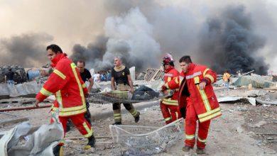 صورة ارتفاع حصيلة ضحايا انفجار بيروت