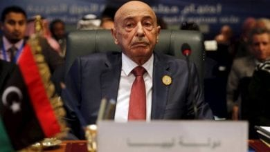 Photo of Aguila Saleh arrives in Cairo as part of international and regional meetings that aim at resolving Libyan crisis