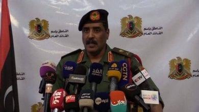 Photo de Al-Mesmari: L'initiative du gouvernement d'Al-Sarraj est de répandre les cendres dans les yeux