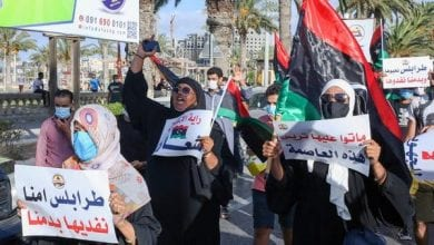 Photo of Demonstrations in Tripoli ends with violence and kidnapping