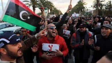 Photo de Des manifestationsde colère à Tripoli contre le gouvernement d'Al-Sarraj