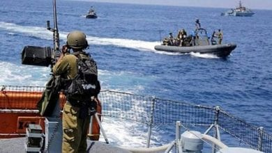 Photo of Israeli occupation's navy imposed a ban on Palestinian navigation off the shores of the enclave