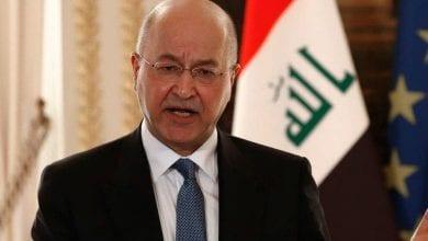 Photo de La présidence irakienne condamne l'agression turque à Sidekan