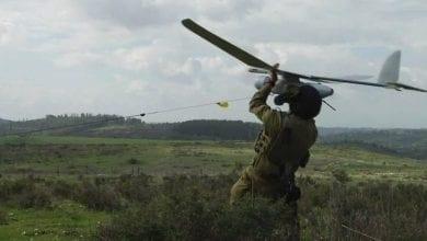 Photo of Lebanon's Hezbollah downs Israeli drone