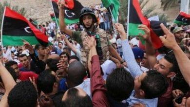 Photo de Manifestations renouvelées à Tripoli contre le gouvernement d'Al-Sarraj