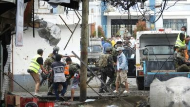 Photo de Philippines: un double attentat fait au moins 10 morts