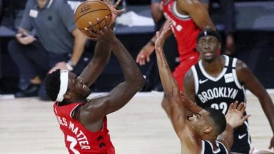 Photo of Raptors rip Nets, Boston hold off Sixers for 3-0 NBA playoff leads