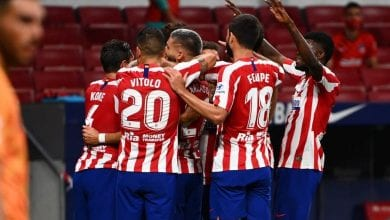 Photo of Two positive COVID-19 cases confirmed in Atletico Madrid  ahead of CL clash