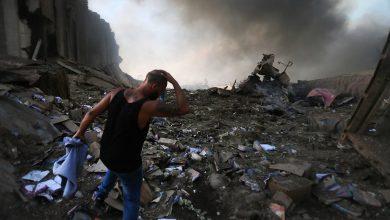 صورة عون يرفض التحقيق الدولي في انفجار مرفأ بيروت