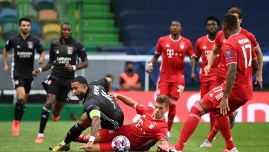 Photo de Le Bayern Munich en finale de la Ligue des Champions