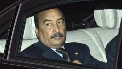 l'ancien président mauritanien