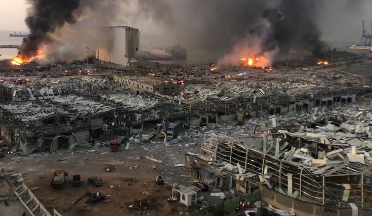 Solidarité internationale avec le Liban après les explosions