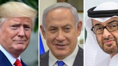 صورة وفد أمريكي إسرائيلي مشترك يزور الإمارات