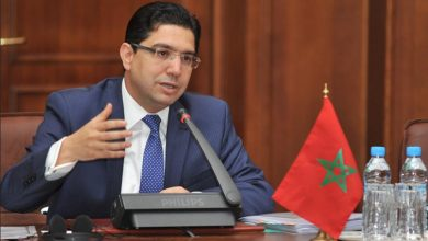 """صورة وزير الخارجية المغربي يهنئ الليبيين بالتوصل """"لتوافقات"""""""