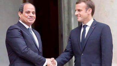 صورة فرنسا ومصر تعملان من أجل استقرار ليبيا ومنطقة المتوسط