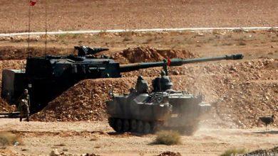 صورة النظام التركي يقصف عدة مناطق شمالي سوريا