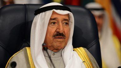 صورة ترامب يمنح أمير دولة الكويت وسام الاستحقاق العسكري من الدرجة الأولى