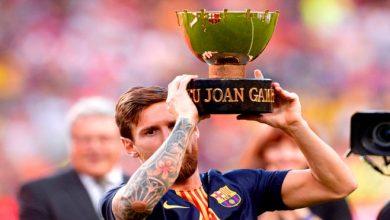 صورة برشلونة يحرز كأس جوان غامبر