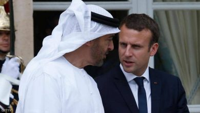 صورة الإمارات وفرنسا تبحثان تعزيز العلاقات الاستراتيجية بين البلدين