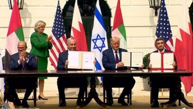 صورة الإمارات والبحرين توقعان رسمياً اتفاقيتين للسلام مع إسرائيل